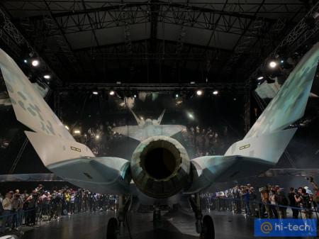 Как выглядит новый российский истребитель  (фото, видео)