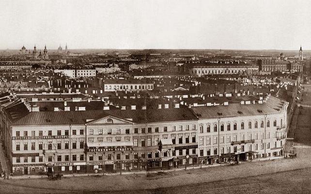 Гостиница Лондон Фото 1863 г.